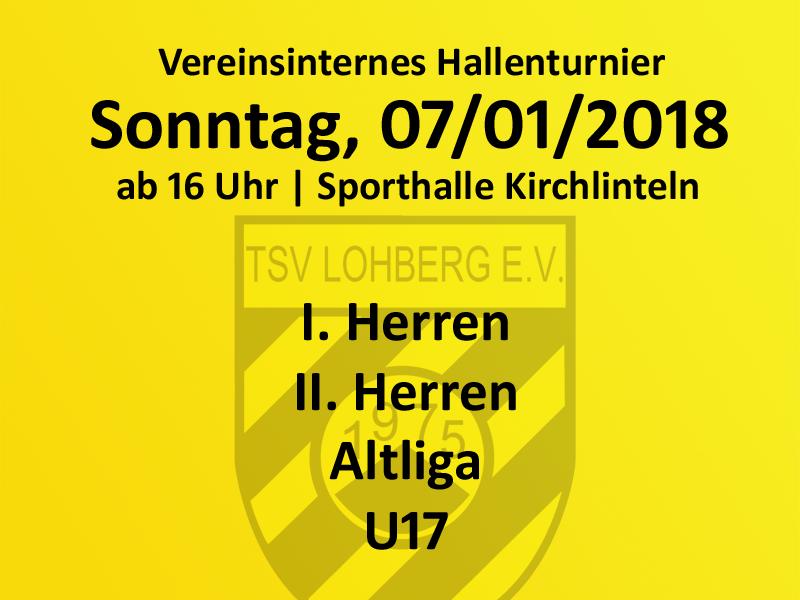 Vereinsinternes Hallenturnier @ Sporthalle Kirchlinteln