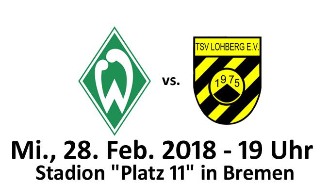 "Altliga: Werder Bremen vs. TSV Lohberg @ Stadion ""Platz 11"""