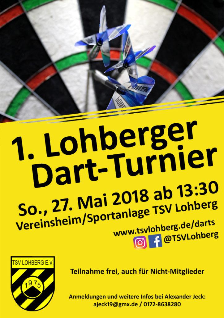 1. Lohberger Dart-Turnier @ Vereinsheim TSV Lohberg