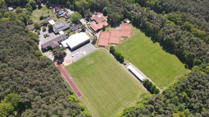 Sportgelände TSV Lohberg an der Grundschule Luttum